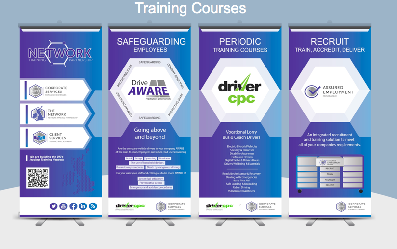Network Training Partnership's AWARE Series of Company Courses