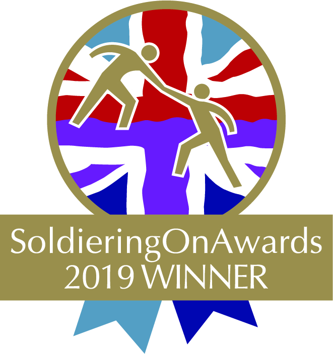 NTP announced as Business Start Up of the Year at the Soldiering On Awards