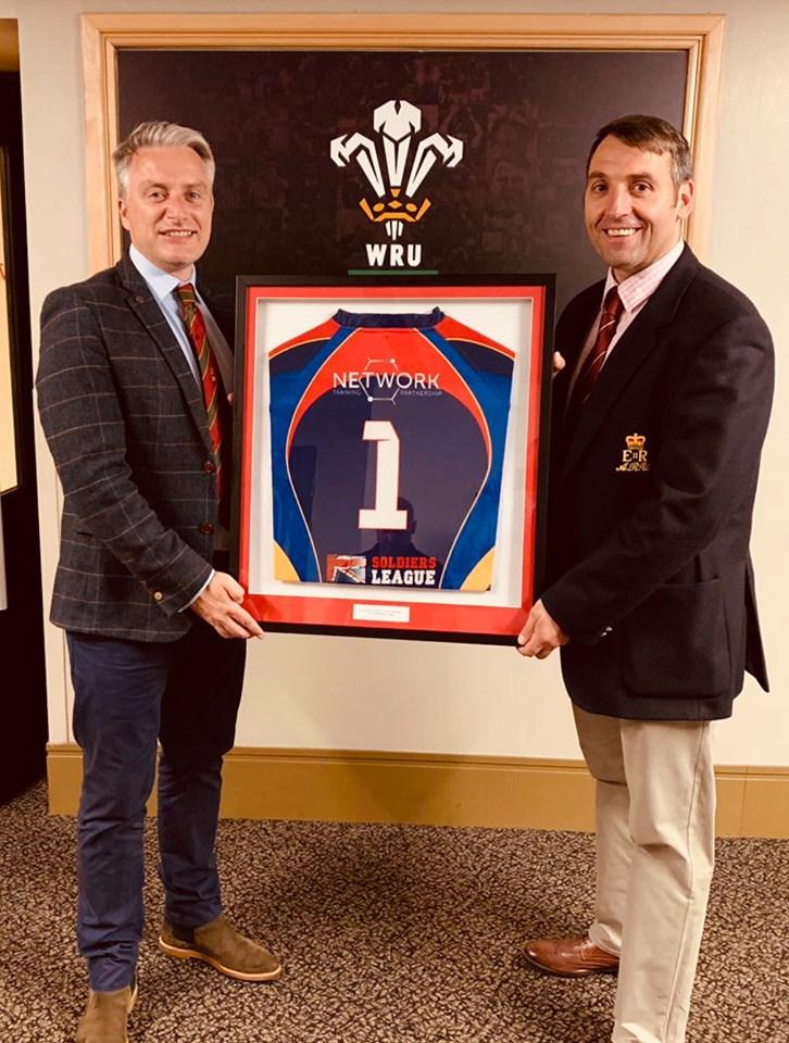 REME Rugby Dinner Sponsorship presentation